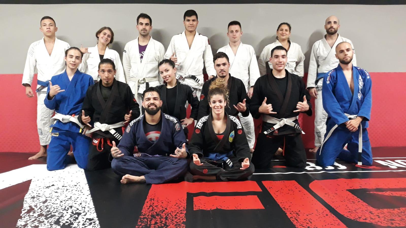 jiu jitsu brasileño en sa fight company deusto