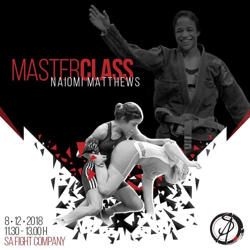 naiomi mathews master class jiu jitsu brasileño bilbao