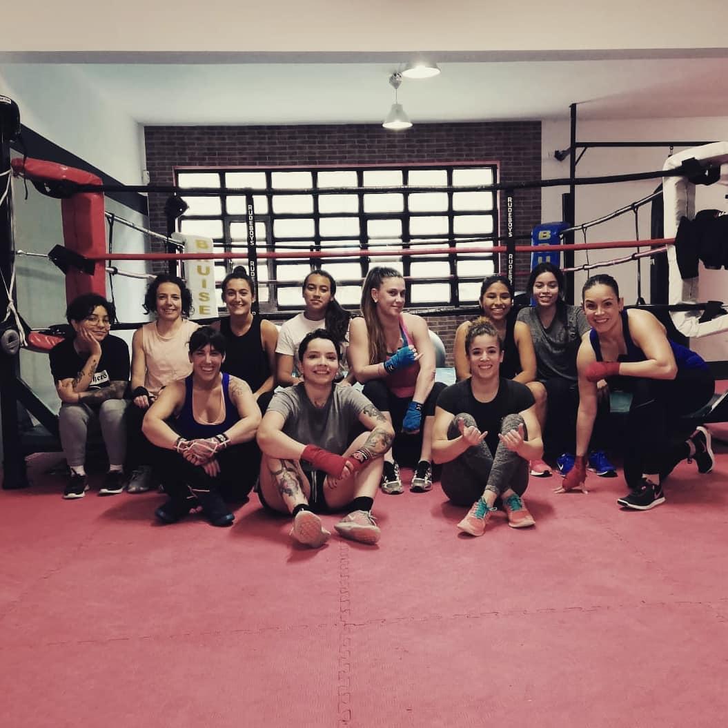 boxeo femenino en sa fight company