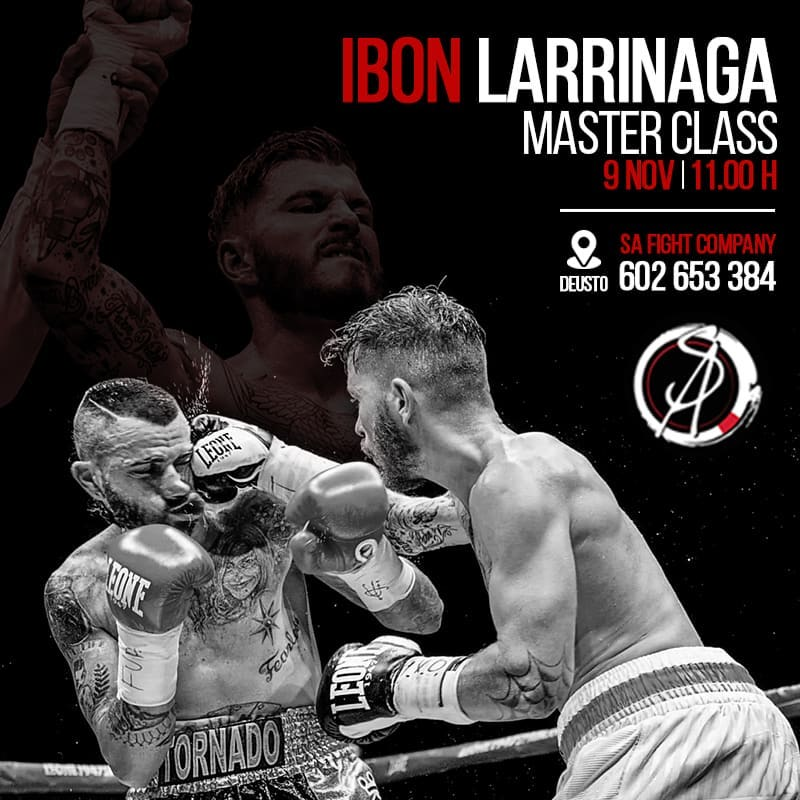 seminario ibon larrinaga en sa fight company