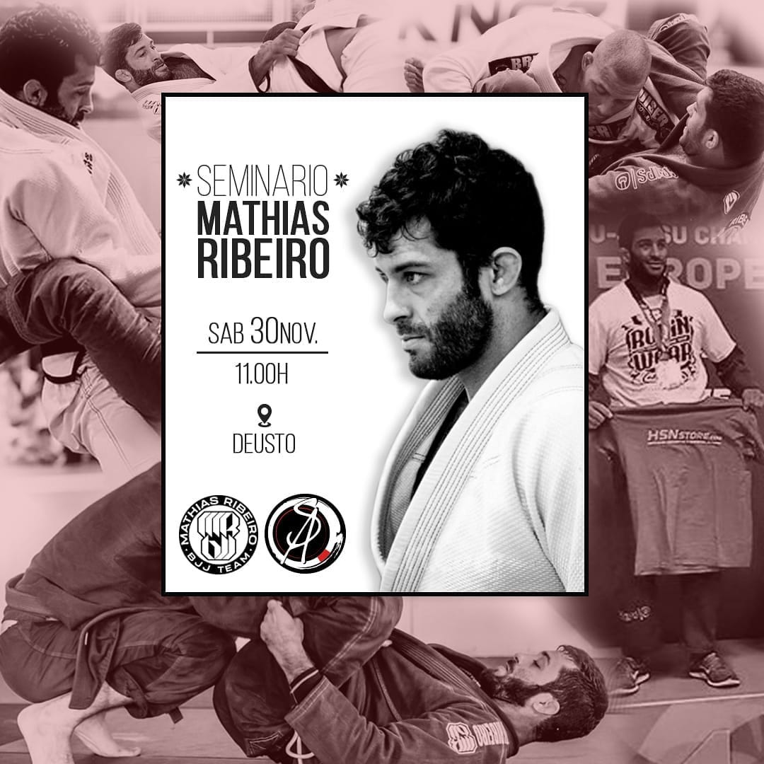 seminario de jiu jitsu brasileño mathias ribeiro